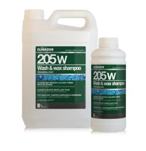 CLINAZUR 205W Wash & wax shampoo